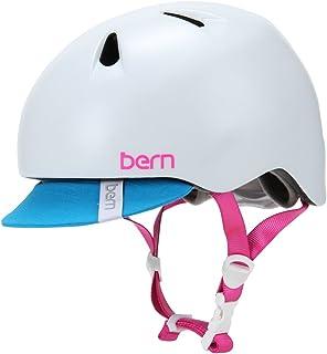 BERN [ バーン ] Nina ニノ XS/S Satin White サテンホワイト VJGSWTV サイクリング ヘルメット [並行輸入品]