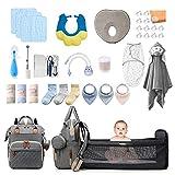 34 Pcs Newborn Essentials Kit,Diaper Bag...