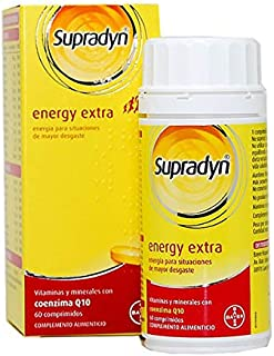 BAYER Supradyn energy extra 60 comprimidos