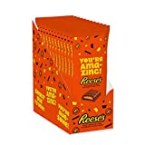 REESE'S Valentine's Day Candy, Peanut Butter Milk Chocolate You're Amazing Appreciation Candy Bars,...