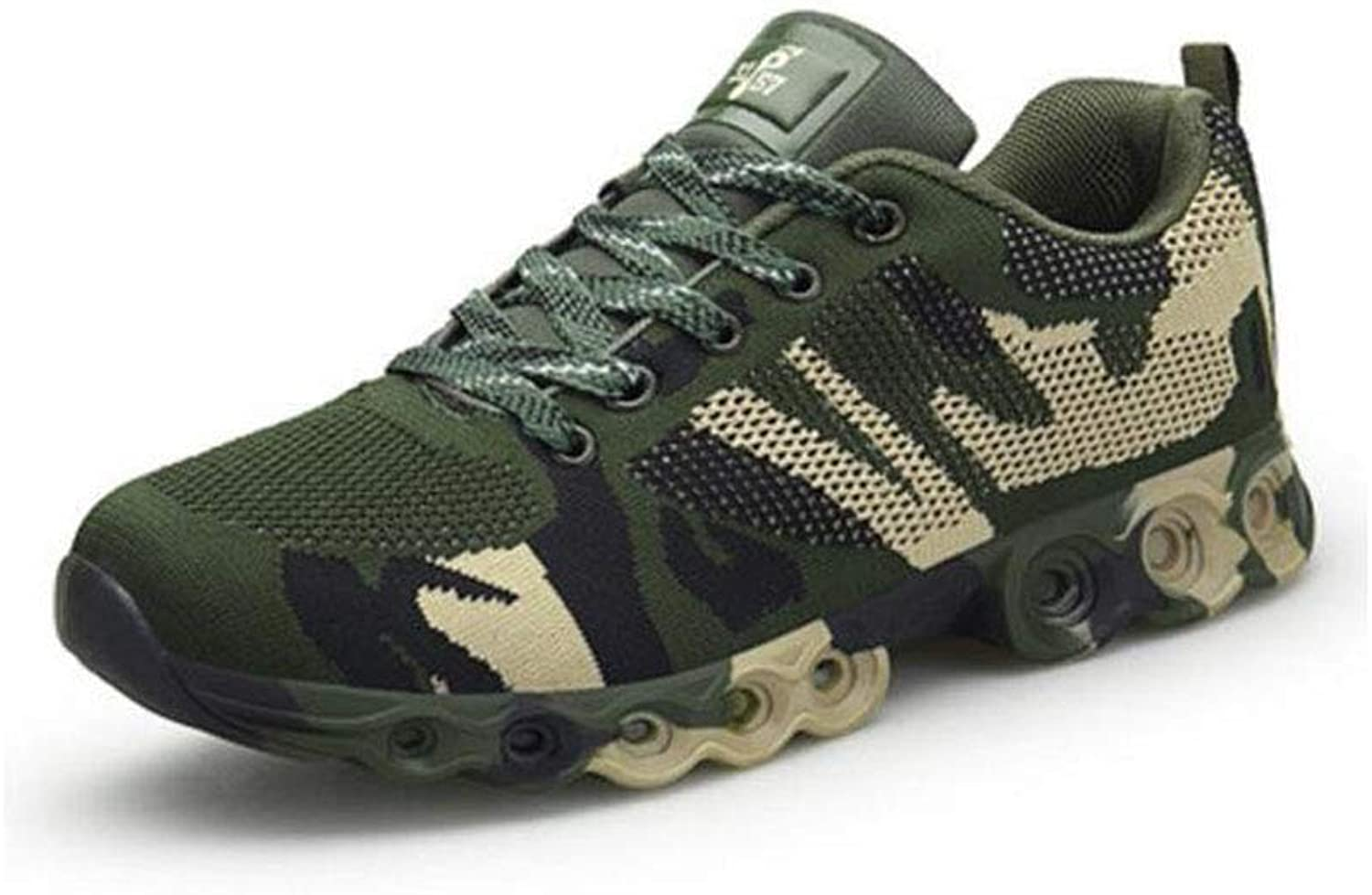 FH Camouflage Military Training shoes Men's Running shoes Super Light Breathable Outdoor Hiking shoes Training shoes