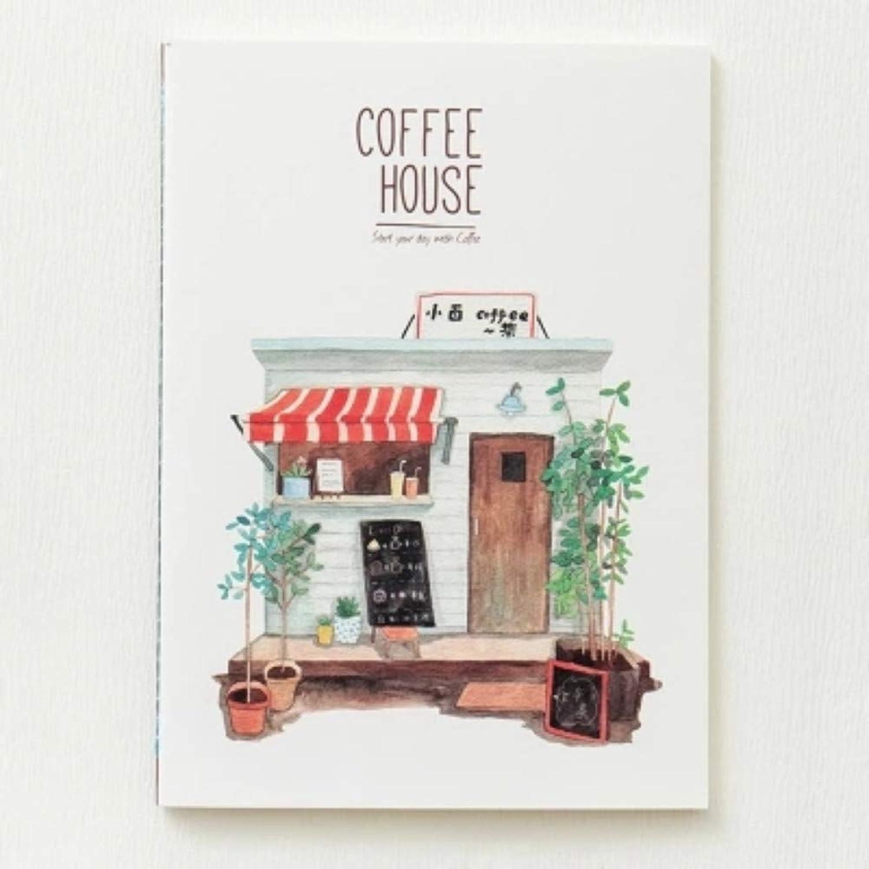 Coffee House Großes Übungsbuch 4er-Pack Notebook Notebook Notebook Notizbuch Planer Komposition Buch Innenseiten 82 Seiten18x25cm   4 B07Q2JY7FM | Preiszugeständnisse  | Qualitativ Hochwertiges Produkt  | Abrechnungspreis  974be4