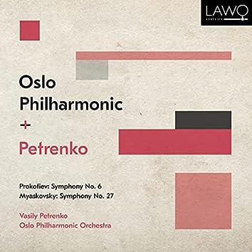 Prokofiev: Symphony No. 6 - Myaskovsky: Symphony No. 27
