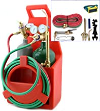 Lotus Analin Professional Tote Oxygen Acetylene Oxy Welding Cutting Torch Kit with tank