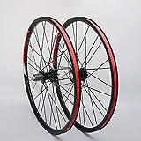 QDY-A8228 Mountain Wheel Set Juego de Ruedas de Freno de Disco de 26 Pulgadas y 2 Rodamientos