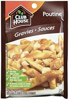 Club House Poutine Gravy Mix 42g (5 Pack)