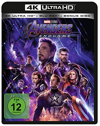 Avengers: Endgame [4K Ultra HD] [Blu-ray]