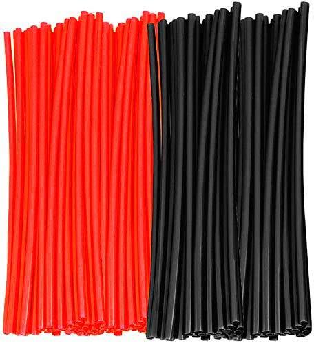 color tree 72pcs/Lot Speichen Skin Guard Wraps Felgenwickel für Universal Motocross Dirtbikes