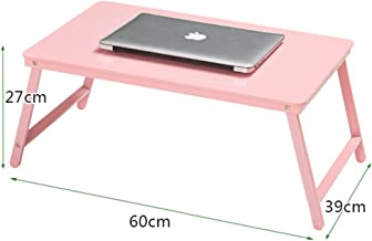 YbauShop Laptop Table Computer Household Foldable Laptop Tables Portable Student Dorm Room Bed Table Lazy Table Desk Learning Table Small Table Wall-Mounted Drop Leaf Table,Bed,Indoor,Camping