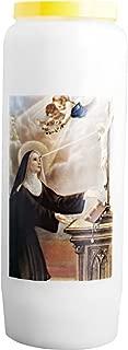 Saint Antoine de Padoue Christ-en-or 3X Bougie Neuvaine sillumine 9 Jours