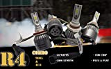 FLA 9005+H11 All-In-One LED Headlight Conversion Combo Kit 6000K Xenon White R4 COB Chip 36W 3800Lm Bulbs 5-Year Warranty