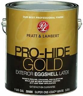 Pratt & Lambert Pro-Hide Gold Eggshell Latex Exterior House Paint