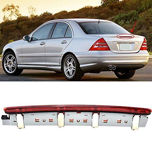 Grtodnz Rücklicht - Dritte Bremsleuchte Bremslicht Heckleuchte Für Benz C-Class W203 2000-2007, 2038201456