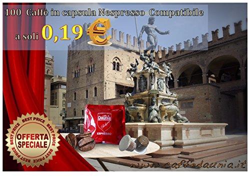 Nespresso  100 Caffè in Caspsule Nespresso Compatibili 'miscela Bologna'
