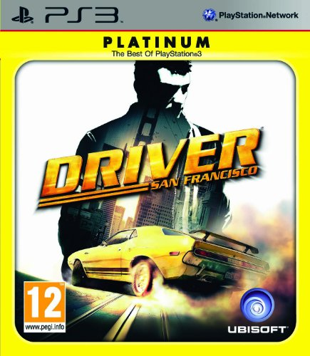 Driver San Francisco - Platinum Edition (PS3) [Importación inglesa]