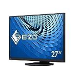 """EIZO EV2760-BK 68,5cm (27"""") 16:9 WQHD IPS Office-Monitor DVI/DP/HDMI Pivot HV LS"""