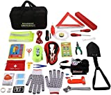 COOCHEER Auto Emergency Kit,Multifunctional Roadside Assistance...