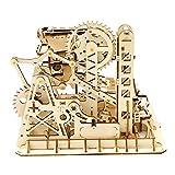 Robotime Laser Cut Puzzle de Madera | Kit de construcción Set Model | Juego de Puzzle en 3D (Tower Coaster)