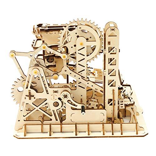 Robotime Bauhandwerk - 3D Puzzle Erwachsene Modellbau - Holzhandwerk Spiele (Turm Coaster)