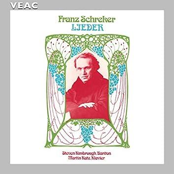 Franz Schreker Lieder