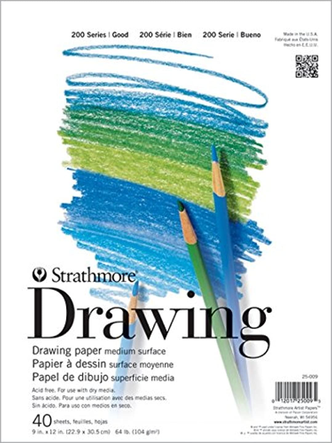Pacon Strathmore Drawing Pad (PAC25011)