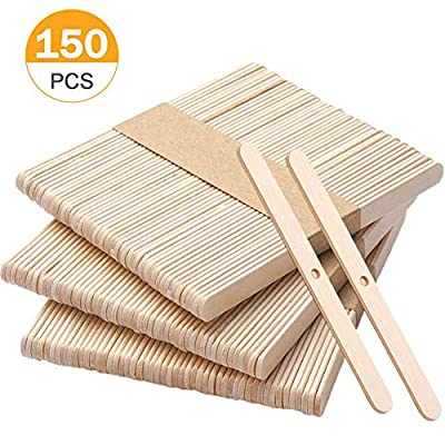 Wooden Candle Wick Holders Pack of 150pcs Wick Centering Devices Candle Wick Bars for Candle Making