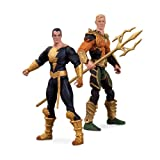 DC Collectibles injusticia Aquaman vs Negro Adam Figura de acción, 2 Unidades...