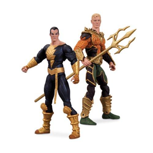 Other DC Collectibles Injustice Aquaman vs. Noir Adam Action Figure, 2-Pack