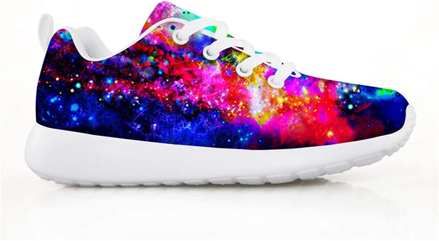 Chaqlin Fashion Sneakers for Kid's Boys Girls Sneakers Casual Running shoes Footwear Galaxy Pattern Multi colord
