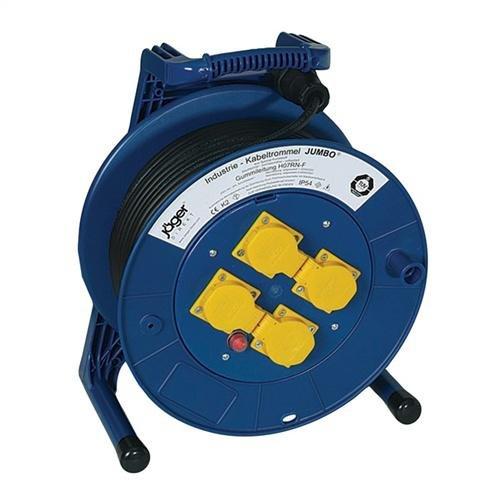 Kabeltrommel 4 stopcontacten met thermische beveiliging, bestelnummer fabrikant: 4000873463