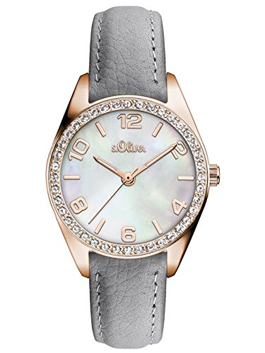 s.Oliver Time Damen-Armbanduhr - SO-3268-LQ