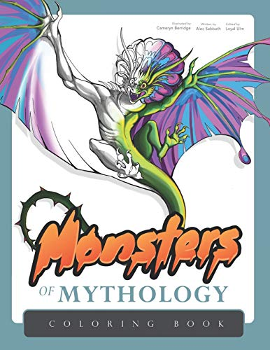 Monsters of Mythology: Coloring Book