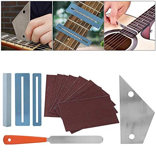 Kit de Herramientas de reparación de Guitarra con Archivo...