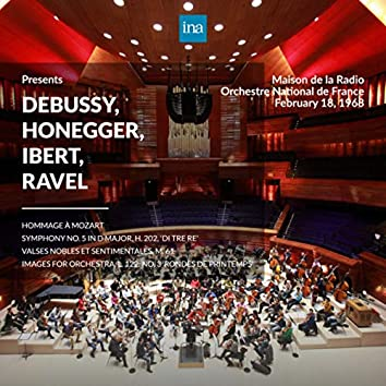 INA Presents: Debussy, Honegger, Ibert, Ravel by Orchestre National de France at the Maison de la Radio (Recorded 18th Febuary 1968)