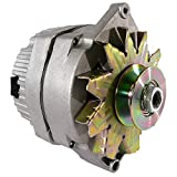 Rareelectrical NEW ALTERNATOR COMPATIBLE WITH GM DELCO 5/8 PULLEY 1 ONE WIRE 10SI CLASSIC CAR REPLACEMENT