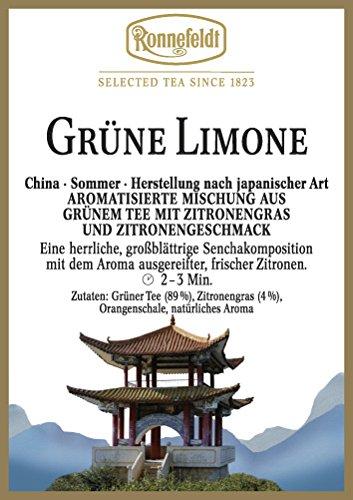 Ronnefeldt - Grüne Limone - Aromatisierter Grüner Tee - 100g