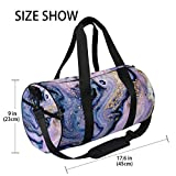 Zoom IMG-1 zomoy barrel bag arte astratta