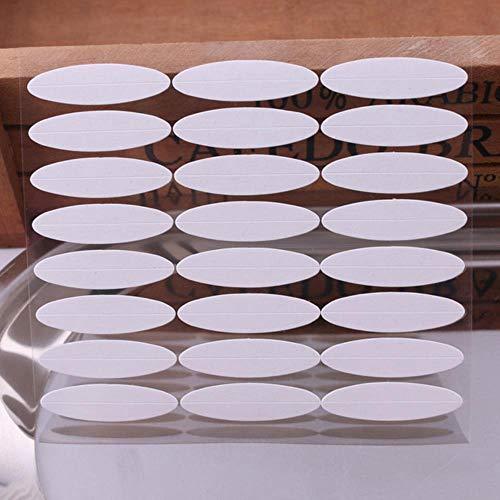 LLine 480 PCS Double Bande de Paupière Invisible Double Paupière Autocollants Transparent Auto-Adhésif Double Eye Tape Dames Outils de Maquillage pour Les Yeux, A 1 PC