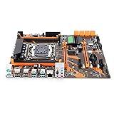 X99 Desktop Motherboad, CPU Slot for LGA2011-V3 4DDR4 2133/2400/2800Mhz 32GB Memory NGFF M.2 Hard Disk 2PCI-Ex16 Interface Gaming Mining Motherboard