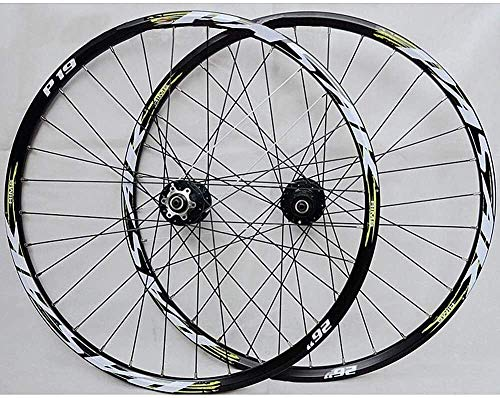 Hyl Fahrradfelge Rad-Scheibenbremse MTB Fahrrad-Rad-Set 26 Zoll 27,5 Zoll 29-Zoll-Karte Rad Mountain Bike (Color : #2, Size : 27.5inch)