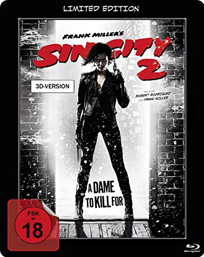 Sin City 2 - A Dame To Kill For - Steelbook [3D Blu-ray] [Limited Edition]