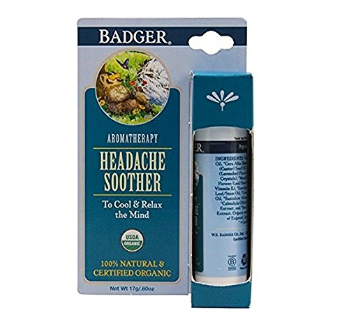 Badger Aromatherapy Headache Soother - 0.6 oz