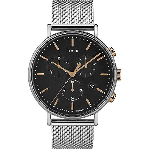 Timex TW2T11400D7 Stahl 316 L Mann Uhr