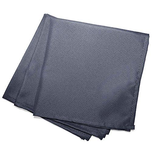 douceur d'intérieur 3 serviettes de table 40x40 cm essentiel beton