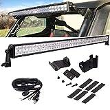 50'' 288W Straight LED Light Kit Compatible with Polaris Ranger 570/900/1000, LED Light...