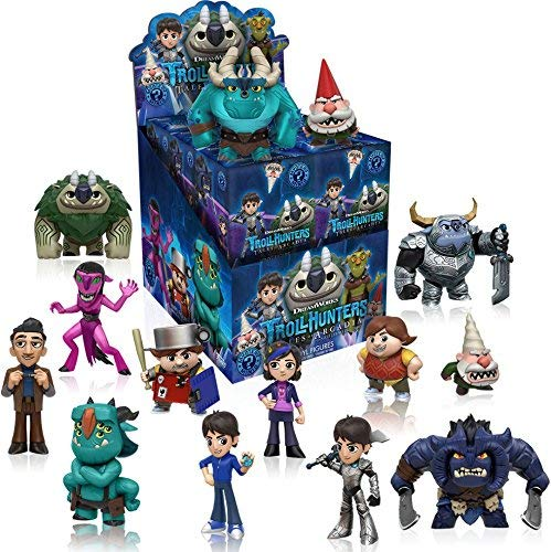Funko TrollHunters Mystery Mini Blind Box Display (Case of 12)