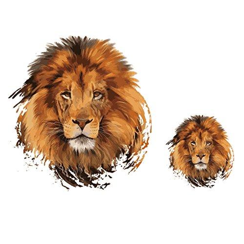 Lailongp Parche de león para Planchar