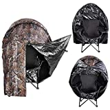 MegaBrand Pop Up Deer Ground Hunting Chair Blind Camouflage