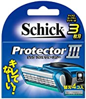 シック Schick プロテクタースリー 替刃(4コ入)