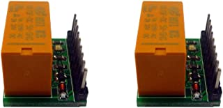 Treedix 2PCS DPDT Relay Module Reverse Polarity Switch for Arduino